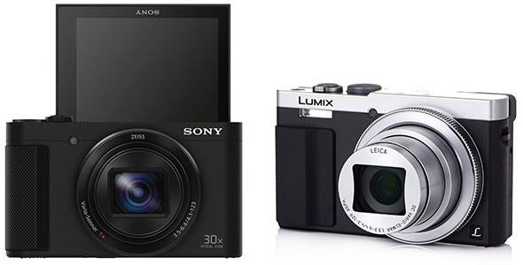 Sony Cyber-shot HX90V vs Panasonic Lumix DMC-TZ70