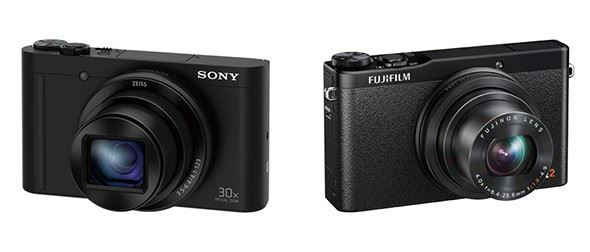 Sony Cyber-Shot WX500 vs Fuji Finepix XQ2