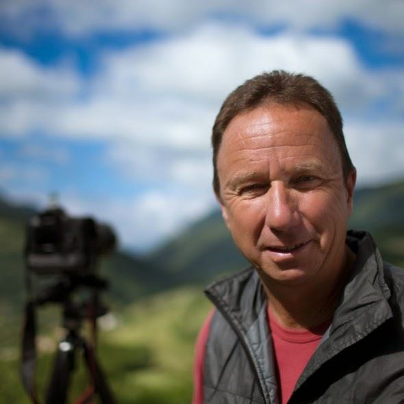 David Noton, landscape and travel photographer