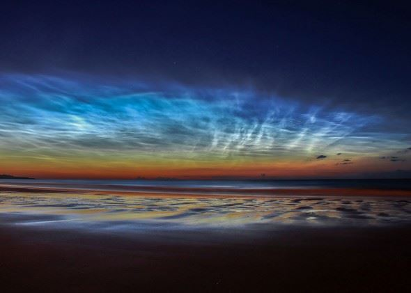 Behind the Image: Matt Robinson, Sunderland Noctilucent Cloud Display
