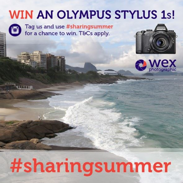 Win an Olympus Stylus 1s Digital Camera!