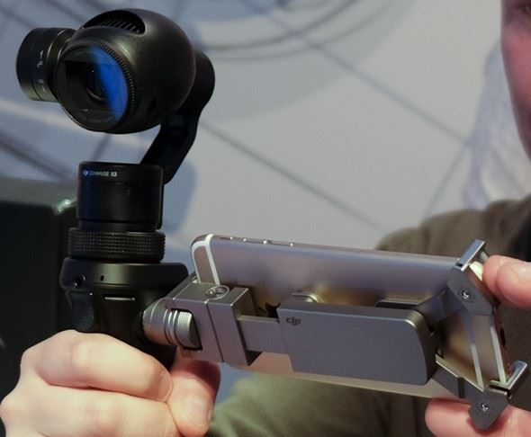 Hands-on with the DJI OSMO