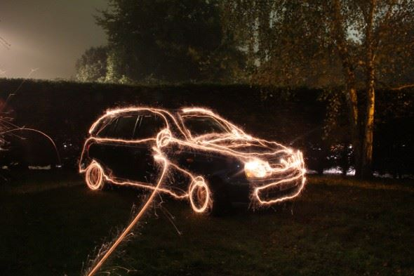 Painting with light and long exposures