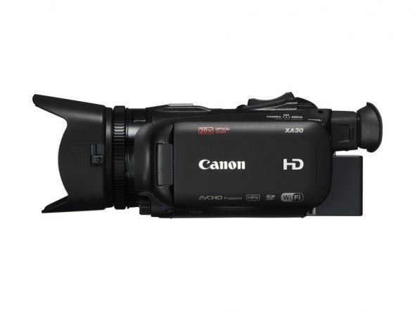 Canon Introduces New XA30 and XA35 Camcorders