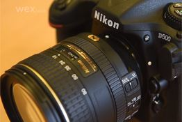 Hands on with the Nikon D500