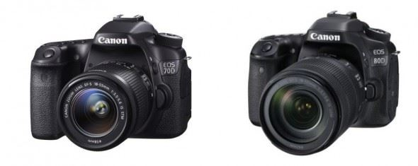 Canon EOS 80D versus Canon EOS 70D: What Are the Key Differences?