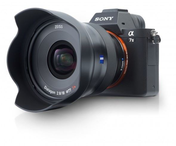The new Zeiss Batis 18mm f2.8 adds a super-wide angle option to the Sony alpha E-mount lens line-up
