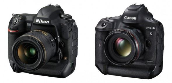Nikon D5 versus Canon EOS 1D X Mark II: The 14 Key Differences