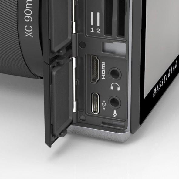 Hasselblad X1D announced: the world's first mirrorless digital medium-format camera