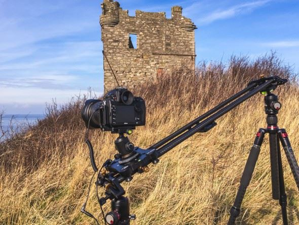 Kirk Norbury tries out the Digislider, a motorised video slider for camera movement