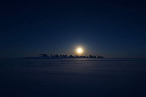 Behind the Image: Antarctic Space Station, by Richard Inman