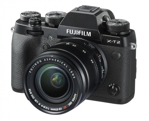 Fujifilm firmware updates for the X-T2 and X-Pro2