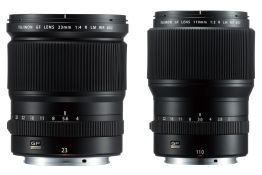Fujifilm announces new GFX-system lenses