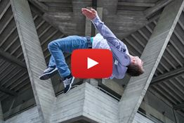 Matt takes a parkour athlete to London's South Bank to put the Sony a9 through its paces