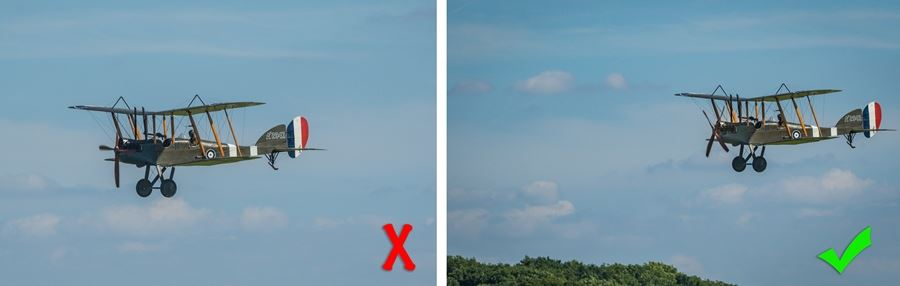 How to shoot an airshow