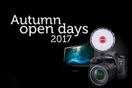 Head to one of our autumn open days for deals, demos, seminars, advice and an incredible free prize draw!