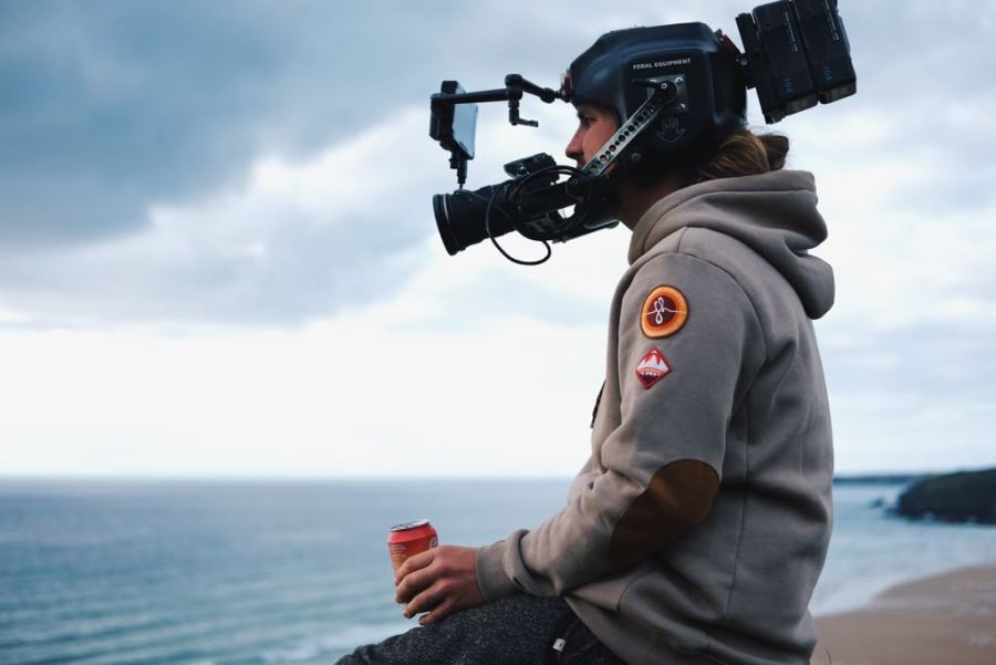 One third of Brother Film Co Marcus Ellingham takes us behind the scenes, during the production company's Boardmasters Festival 2017 shoot