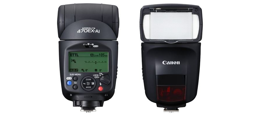 Could this be the future of the flashgun? Canon announces the SPEEDLITE 470EX AI, with automatically adjusting head