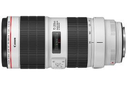 Canon upgrades its flagship EF 70-200mm f.2.8 and f/4