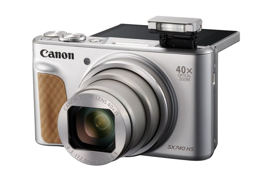 Canon Announces the 'Pocket-Sized' PowerShot SX740 HS