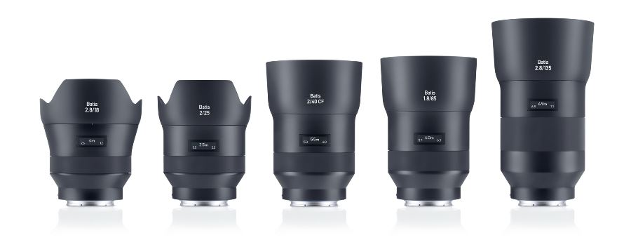 Photokina: ZEISS Announces Batis 2/40 CF 40mm Prime