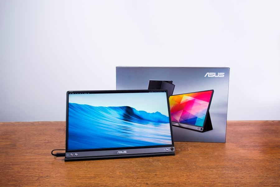 ASUS ZenScreen MB16AC portable USB monitor review