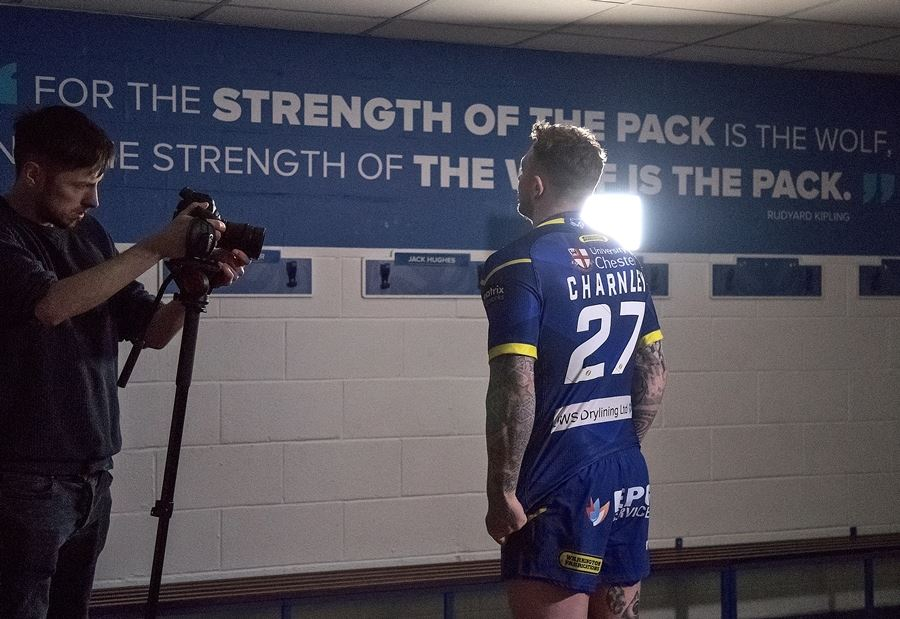 Filming action-packed sports | Producing content for the rugby league with Graham Kirk