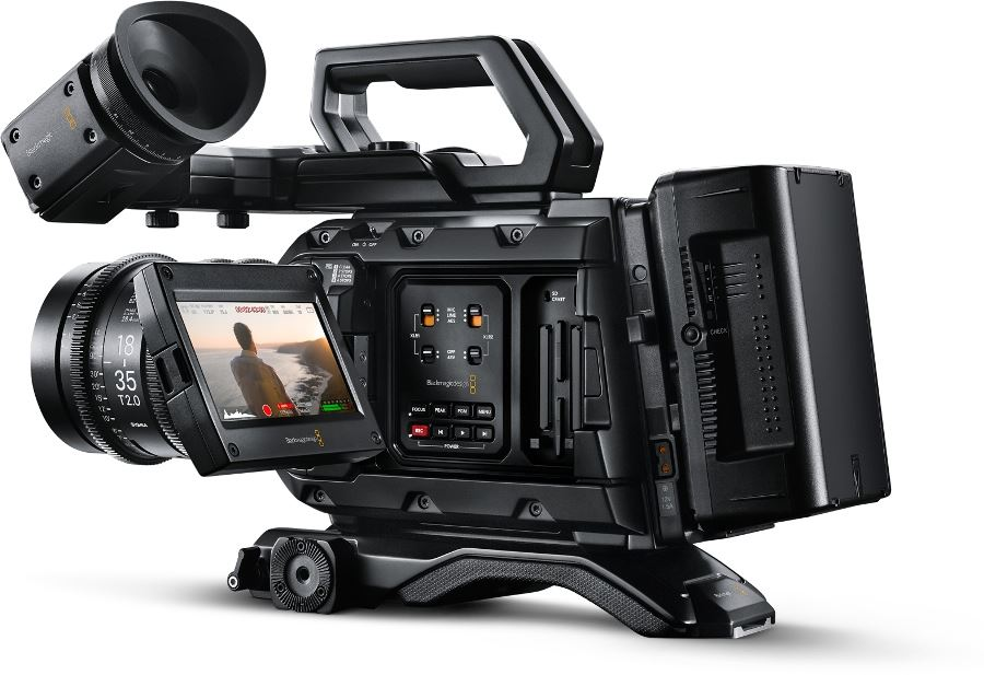Blackmagic announced the URSA Mini Pro 4.6K G2 and its spec is mighty impressive