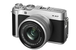 Fujifilm announces the new X-A7 camera