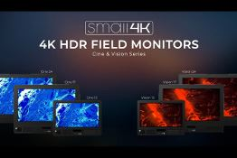 IBC 2019: SmallHD introduces new 4K HDR field monitors