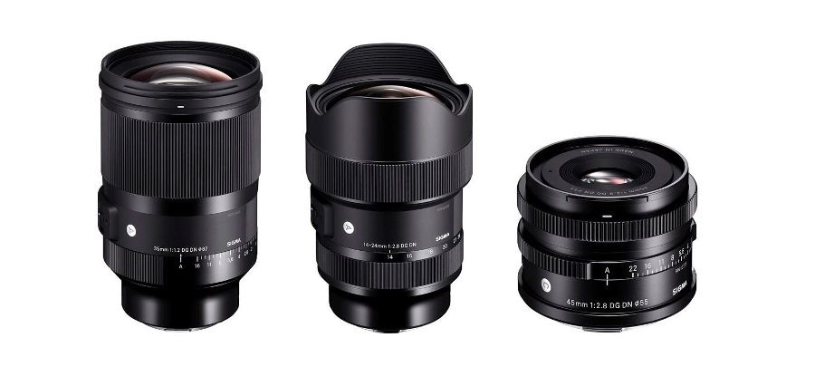 SIGMA announces trio of full-frame mirrorless lenses for both L-mount and E-mount systems
