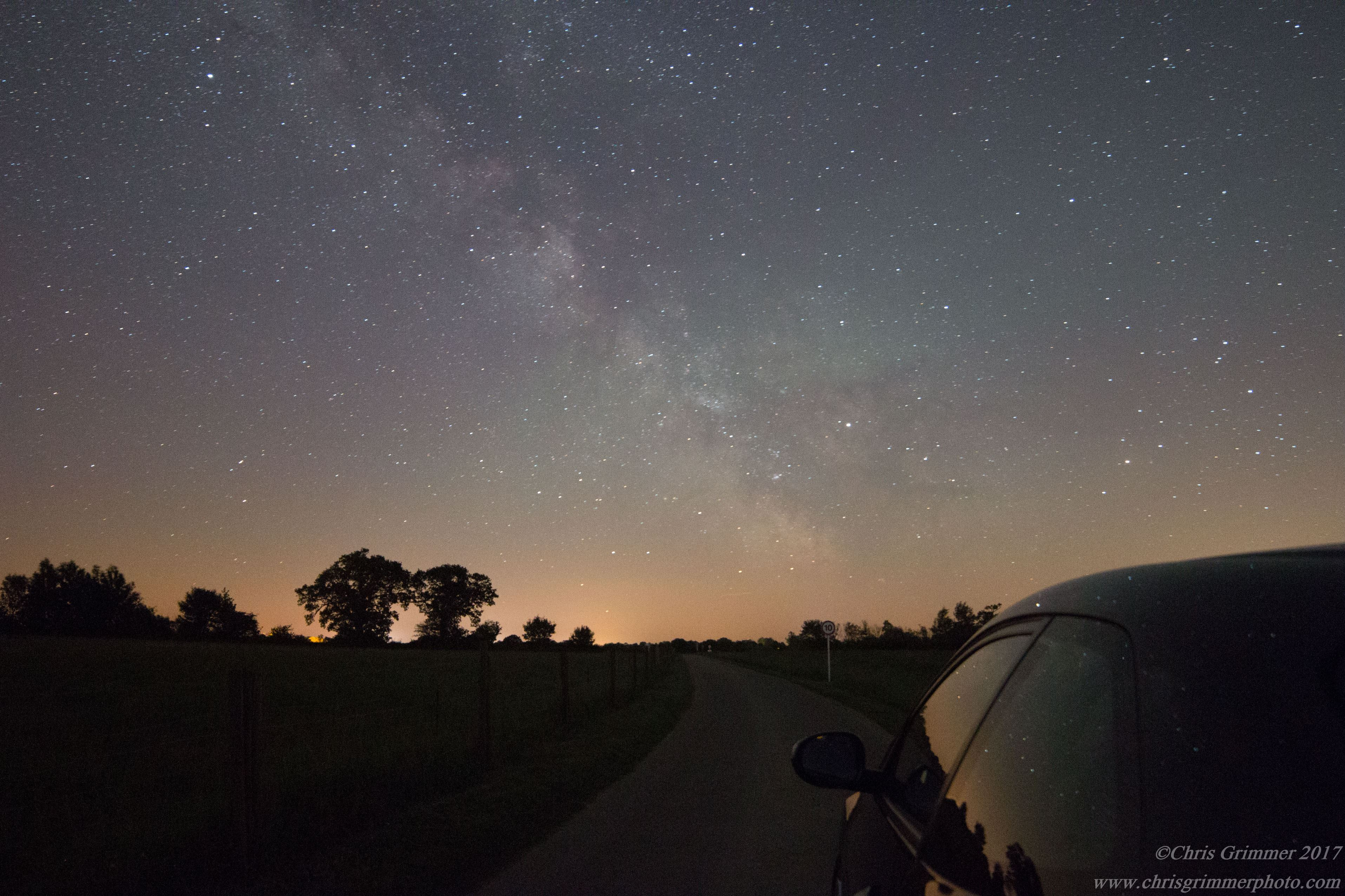 Night sky photography by Chris Grimmer