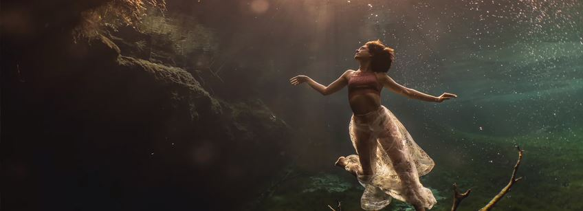 Join underwater photographer Lexi Laine for a glimpse behind the scenes of an incredible project in the enchanting cenotes of Mexico
