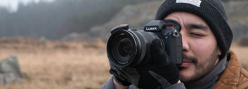 Our pro-video specialist Kriss Hampton gets his hands on Panasonic's first full-frame camera, the LUMIX S1.