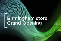 Join the Wex team for a special two-day event to celebrate the launch of our brand new store in Birmingham