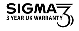 3 Year Sigma Warranty