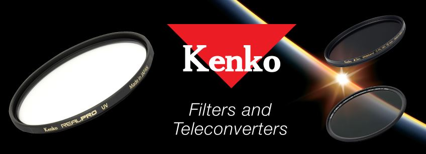 Lens Filters: Kenko Filters and Teleconverters