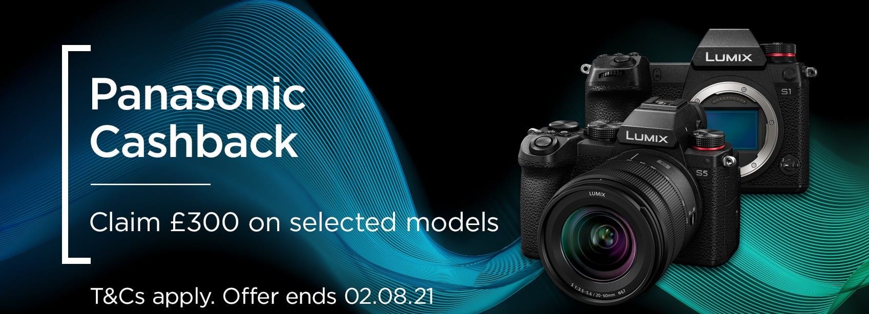 Panasonic Cashback - Claim £300 on selected models
