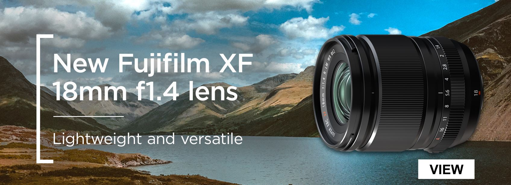 New Fujifilm XF 18mm f1.4 lens - lightweight and versatile