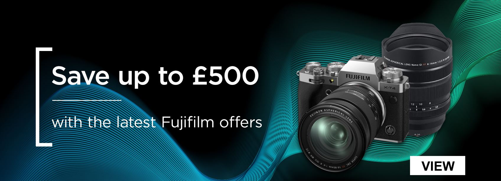 Save up to £500 with the latest Fujifilm offers