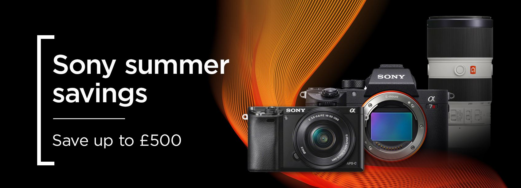 Sony summer savings - Save up to £500