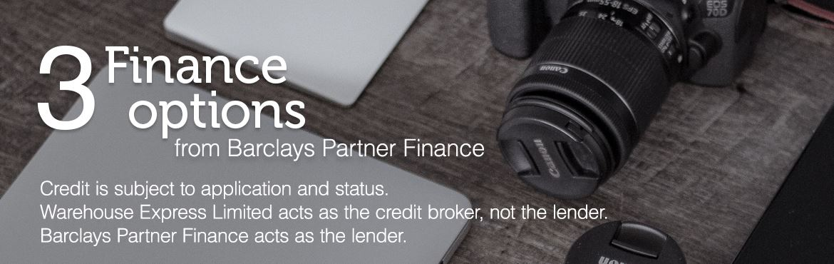 3 finance options from Barclays Partner Finance