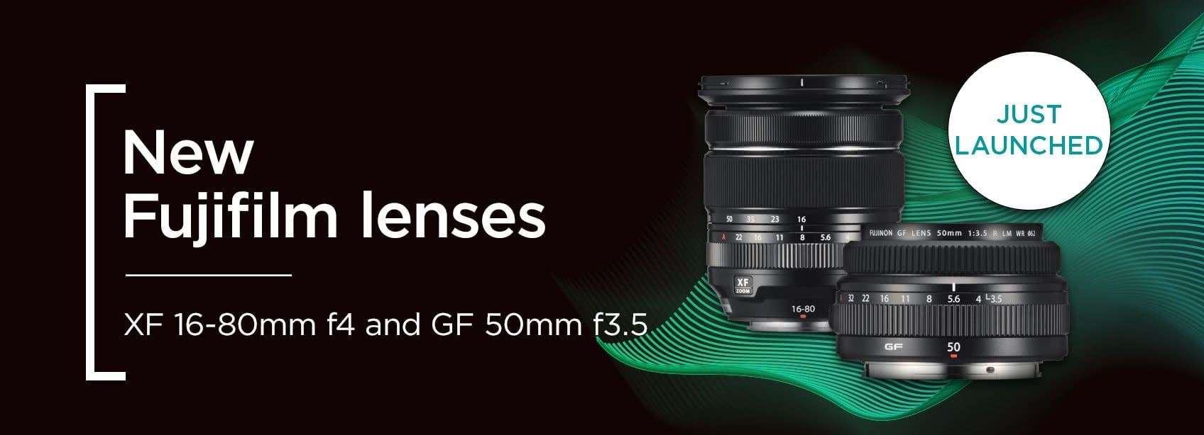 New lenses from Fujifilm