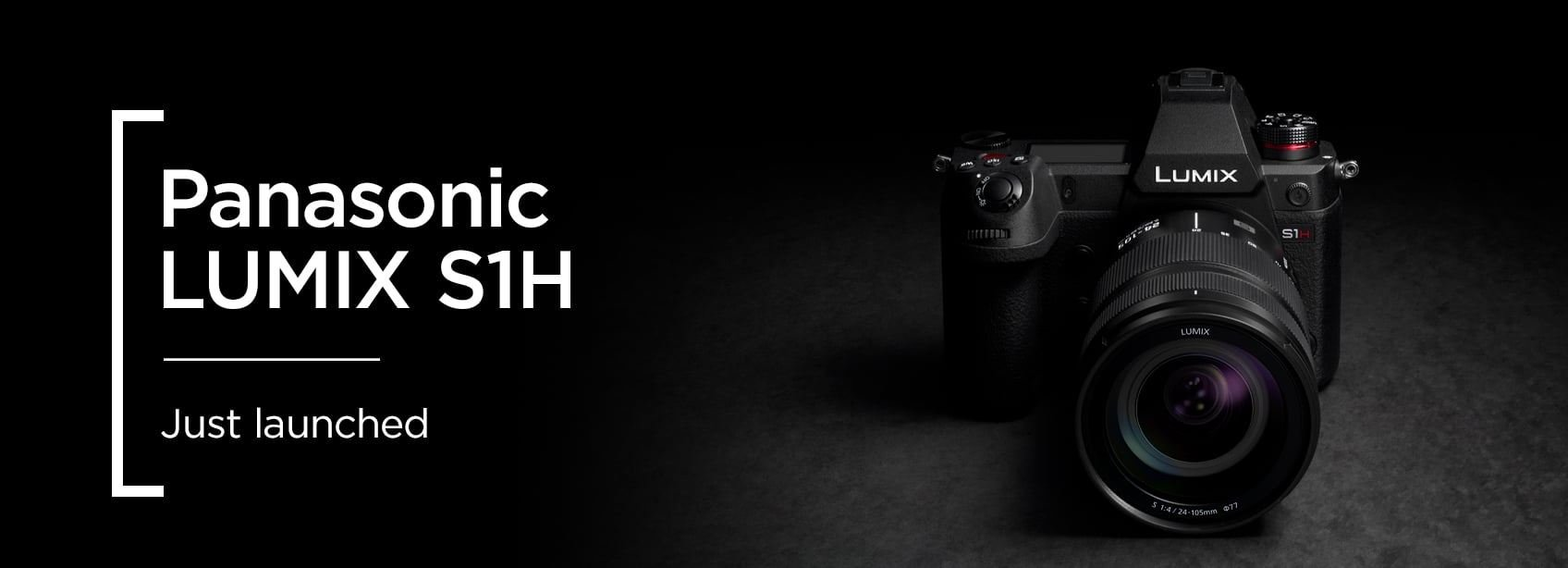 Panasonic LUMIX S1H - Just launched