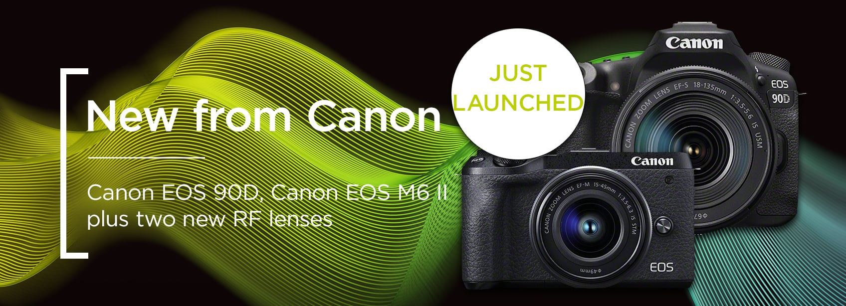 New from Canon - EOS 90D, EOS M6 II plus two new RF lenses