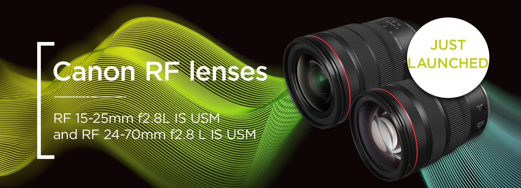 Canon RF Lenses 15-35mm f2.8 L and 24-70mm f2.8 L - Just launched