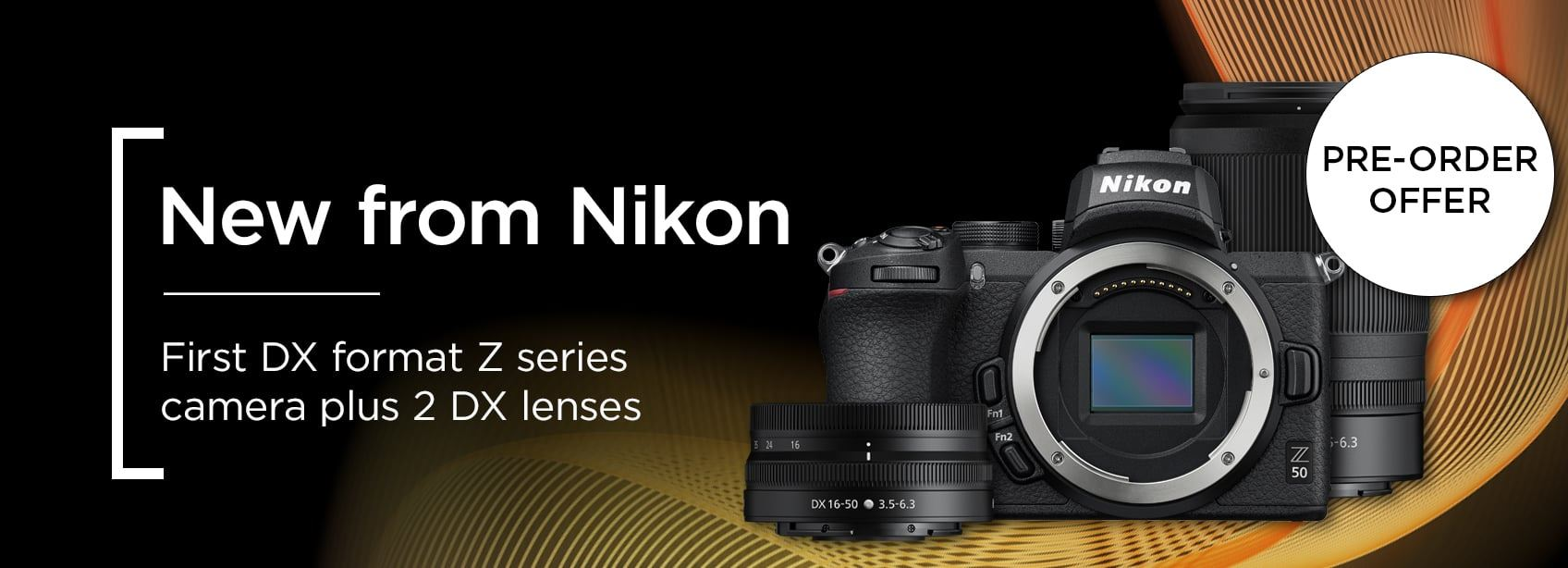 New from Nikon |  First DX format Z series camera plus 2 DX lenses