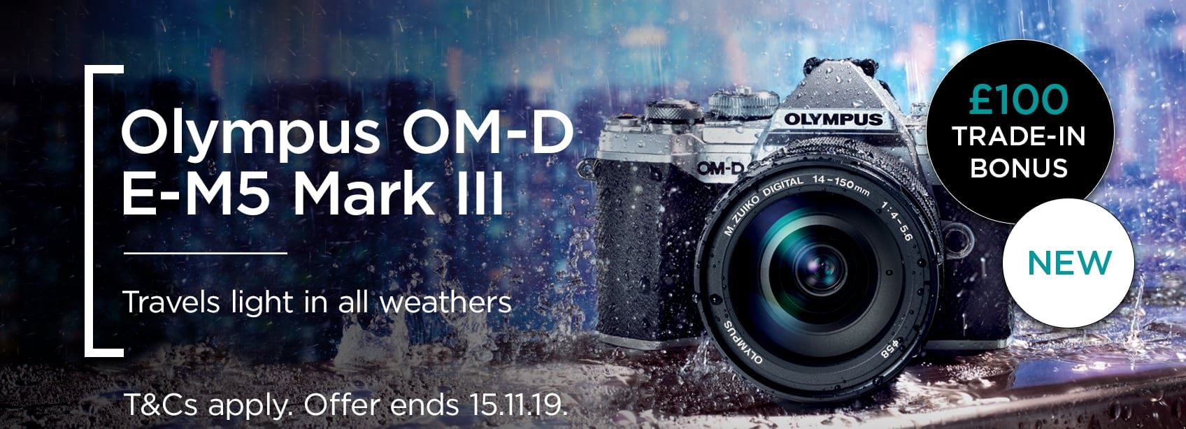 Olympus OM-D E-M5 Mark III - Just launched