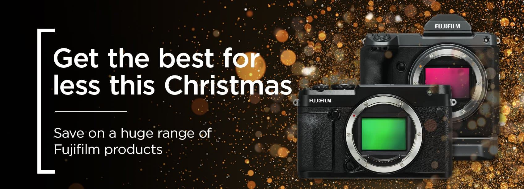 Get the best for less this Christmas - save on a huge range of Fujifilm products