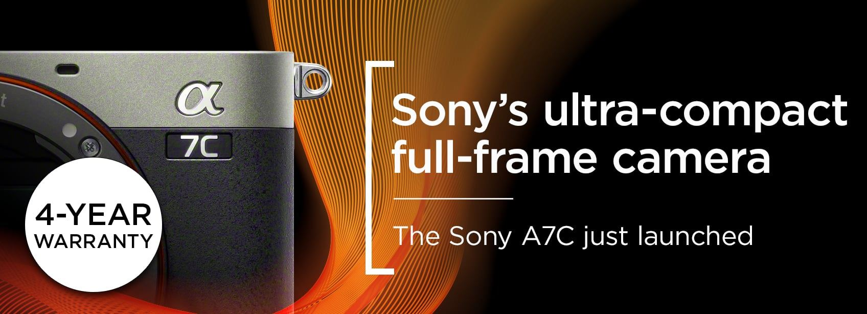 Sony's ultra-compact full-frame camera - the Sony A7C just launched